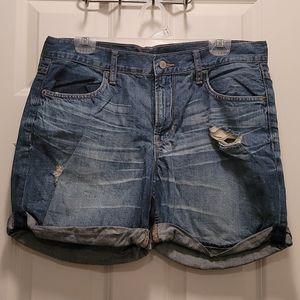 Old Navy Boyfriend jean shorts